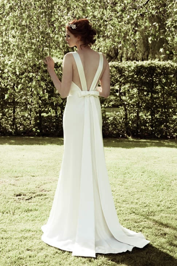 open wedding dress backs