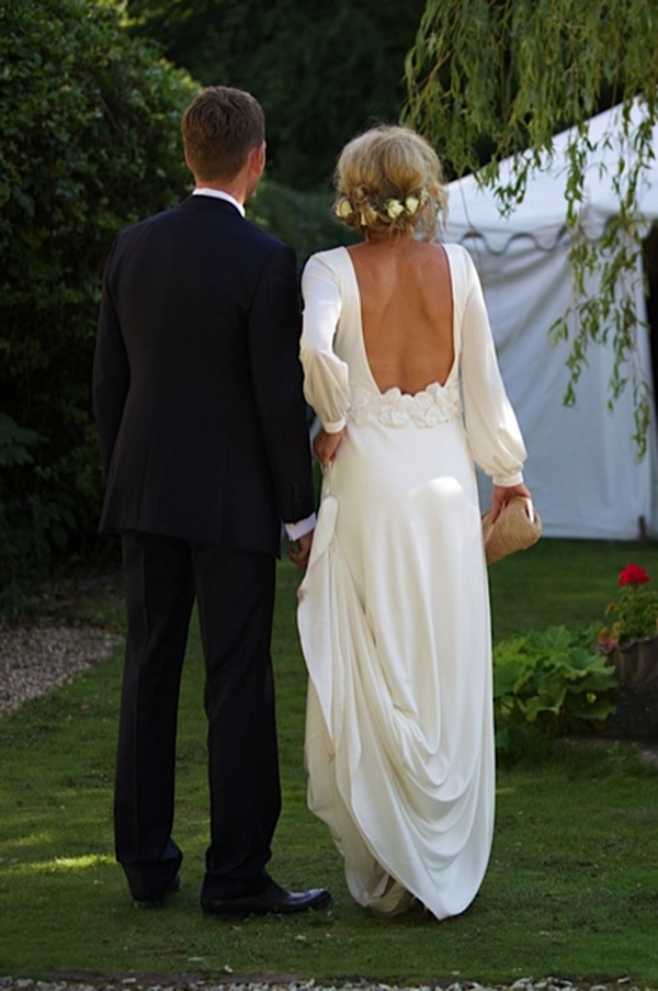 beautiful wedding backs