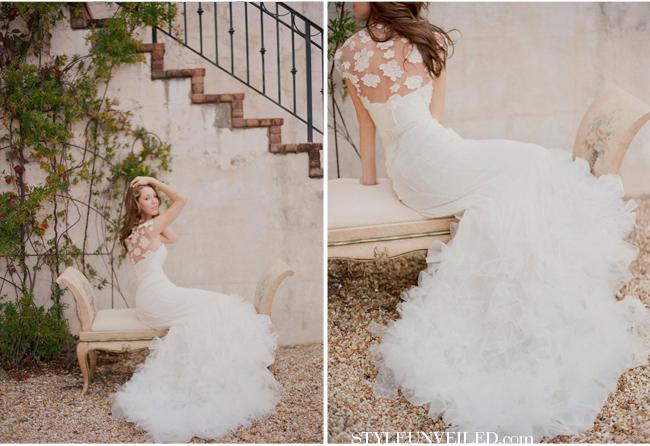 wedding dress backs