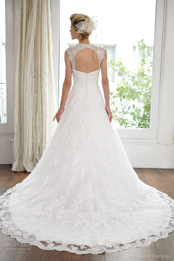 lace wedding backs